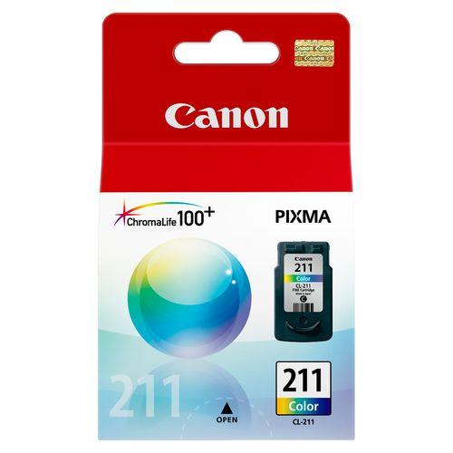 Cartucho De Tinta Canon Color Cl 211