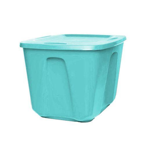 Caja Organizadora Homz Color Turquesa - 68 Lt