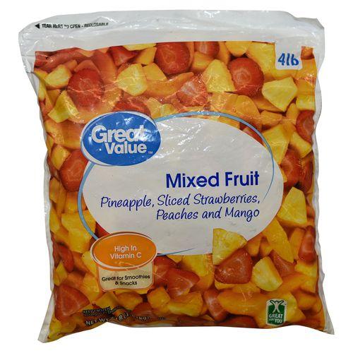 Fruta Mixta Great Value Congelada - 1814gr