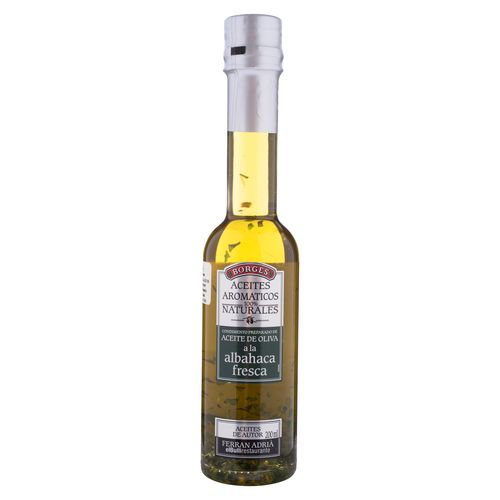 Aceite Borges Oliva Albahaca - 200ml