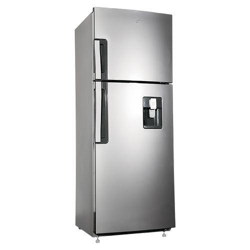 Refrigeradora Whirlpool Silver Con Dispensador 10pc