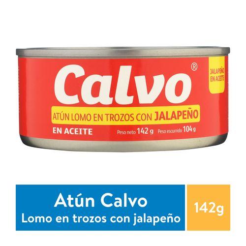 Atun Calvo Lomo En Trozos Con Aceite En Jalapeño - 142gr