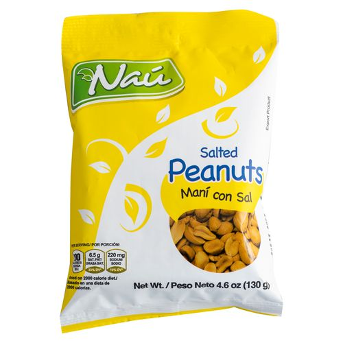 Mani Nau Con Sal De   130Gr