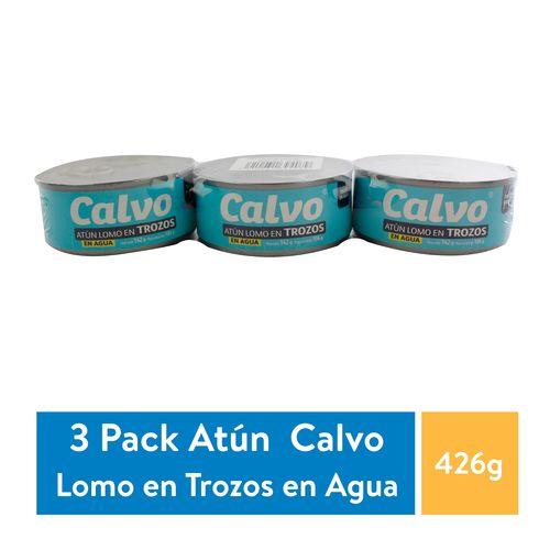 3 Pack Atun Calvo Agua Light - 426gr