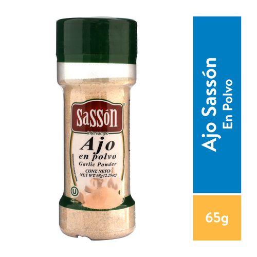 Especias Sasson Ajo Puro - 65gr