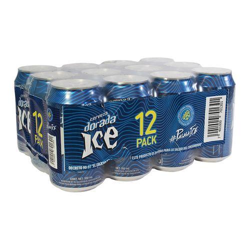 Cerveza Dorada Ice Lata 12Pk 355 Ml