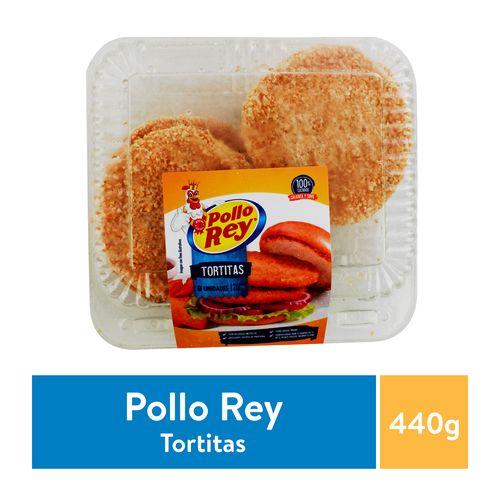 Tortita Pollo Rey Empanizada 8 Unidades - 440gr