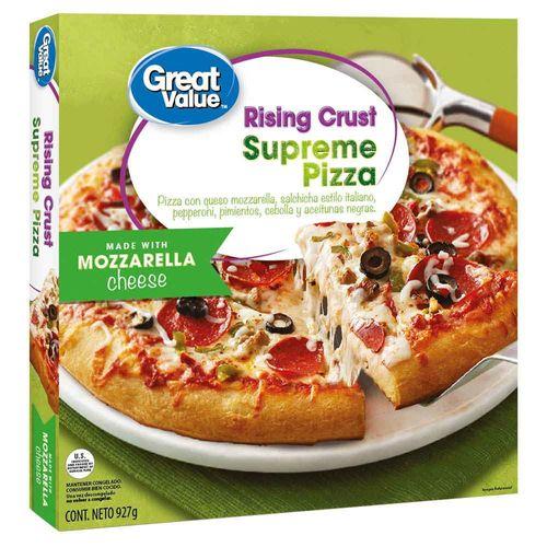 Pizza Great Value Suprema - 927gr