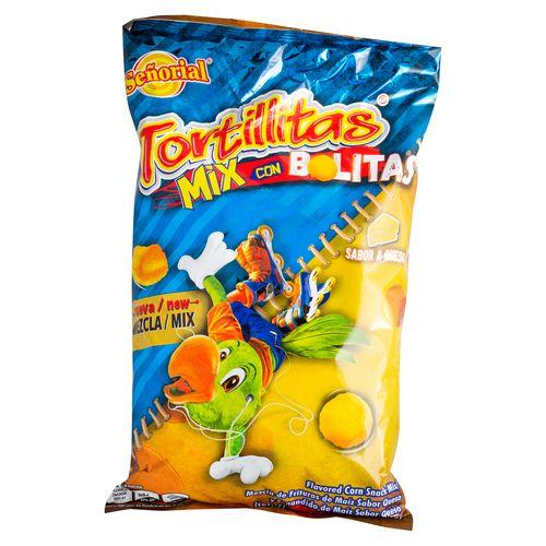 Tortillitas Señorial Mix Con Bolita De - 250gr