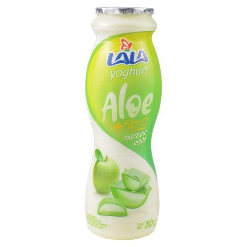 Yogurt Lala Aloe Fibra Manz Verd 200Gr