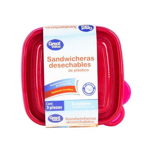 Contenedor Great V Desechab Sandwich 3U