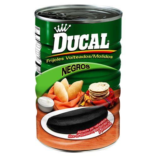 Frijol Ducal Negro Volteados - 156gr