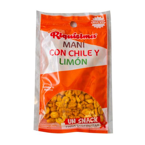 Boquita Riquisima Mani Chile Limon - 80gr