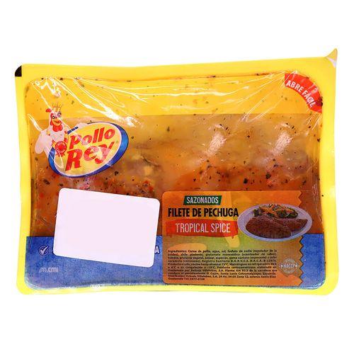 Filete De Pechuga Pollo Rey Tropical Spice Bandeja - 1lb