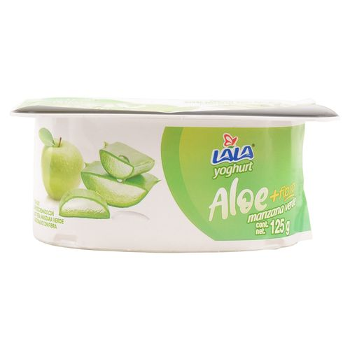 Yogurt Lala Batido Aloe  Manzana 125Gr