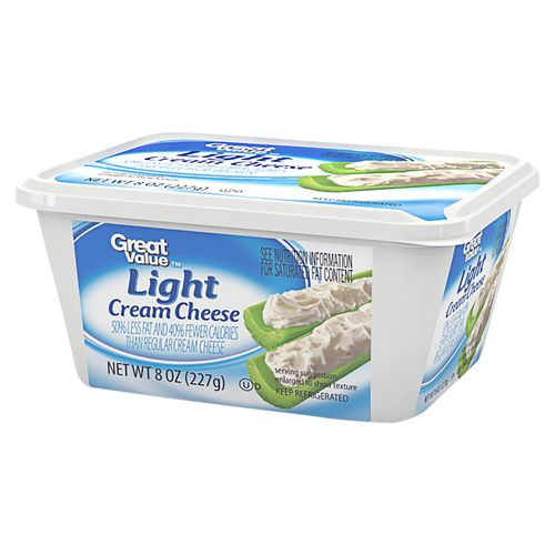 Queso Crema  Great Value Ligth - 227gr