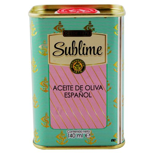 Aceite Sensat Oliva Español Lata - 140ml