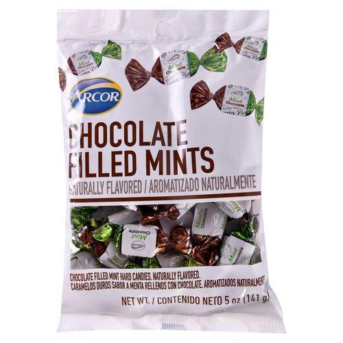 Dulces Arcor Choc Filled Mints - 141.7gr
