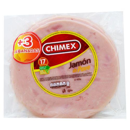 Jamon Chimex Pavo - 400gr