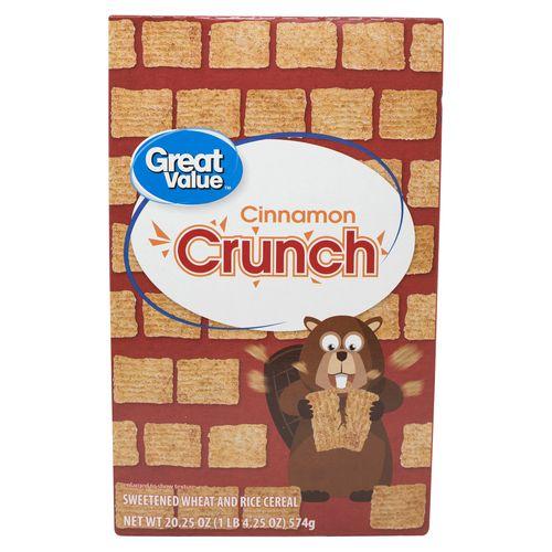 Cereal Great Value Canela Crunch - 574gr