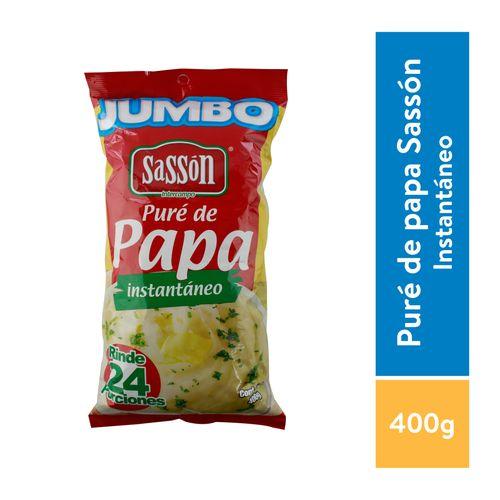 Pure De Papa Sasson Instantaneo - 400gr