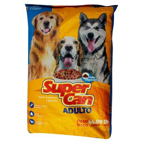 Alimento Supercan Para Perro - 19950gr