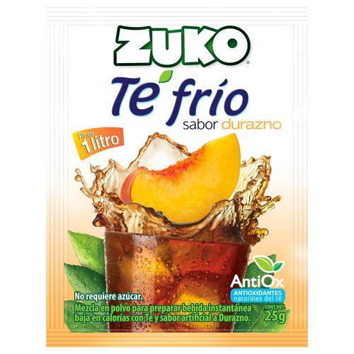 Bebida Zuko Polvo Te Frio Durazno - 25gr