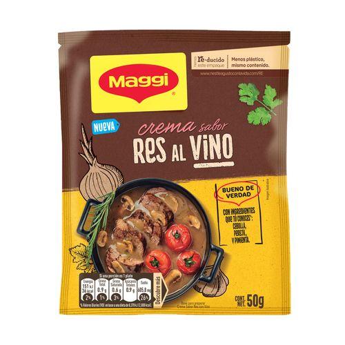 Maggi Crema Res Con Vino 50G