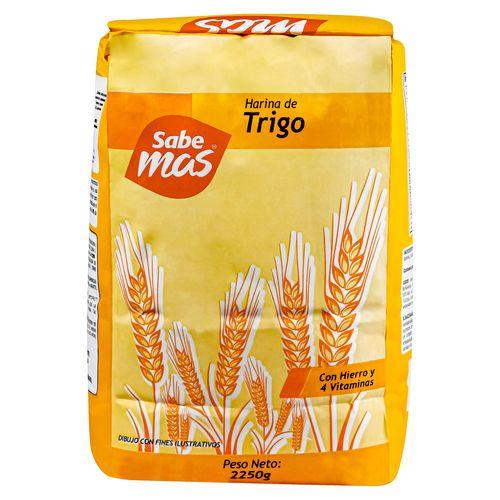 Harina Sabemas De Trigo - 2250gr