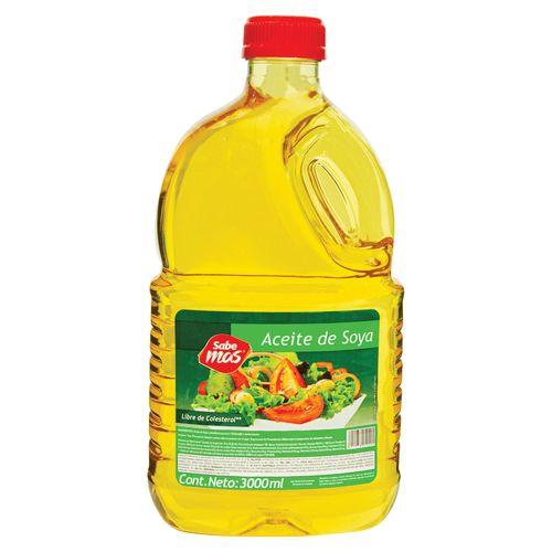 Aceite Sabemas Soya - 3000ml