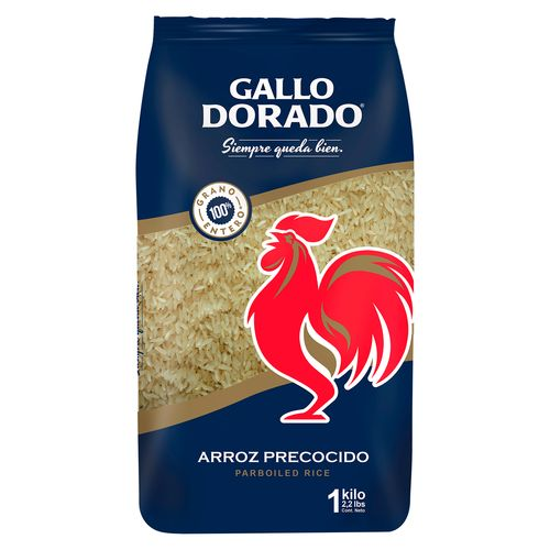 Arroz Gallo Dorado Precocido - 1kg