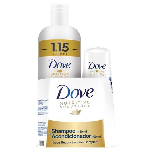Shampoo Dove Reconstruccion Comppleta - 1500ml