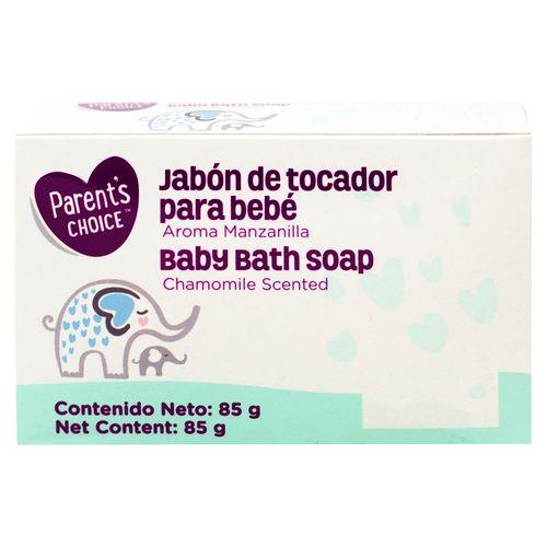 Jabon Parents Choice Para Bebe Manzanilla - 85gr
