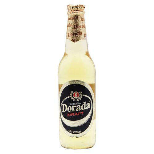 Cerveza Dorada Draft Botella 355Ml