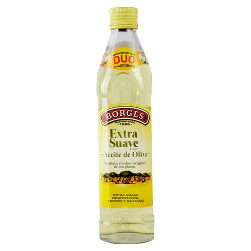 Aceite Borges Oliva Extra Suave - 500ml