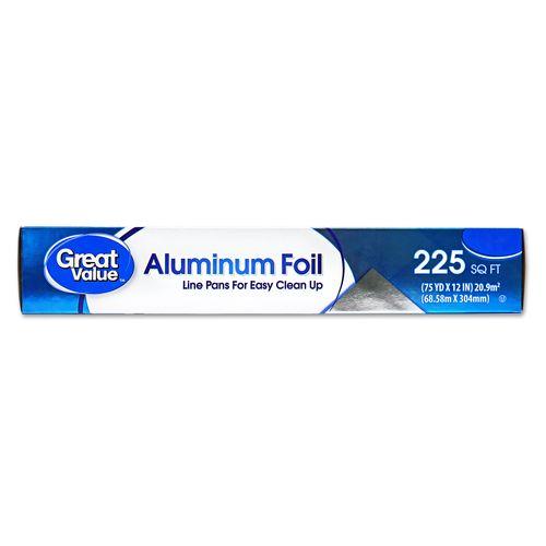 Papel Aluminio Great Value 225 Pies - 1unidad