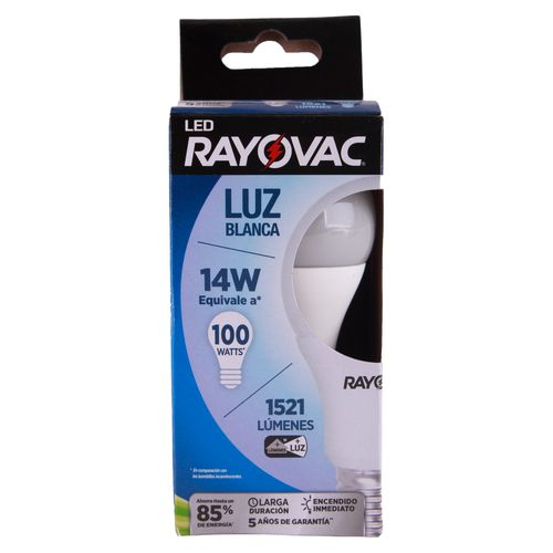 Rayovac Led14W Luz Blanca Caja Tray
